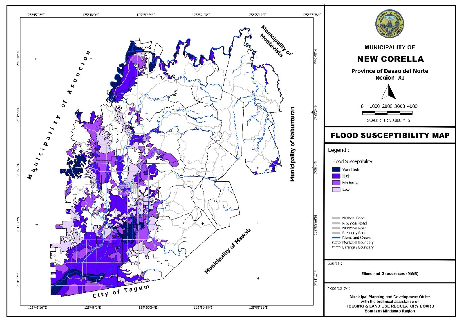 Flood Susceptibility Map